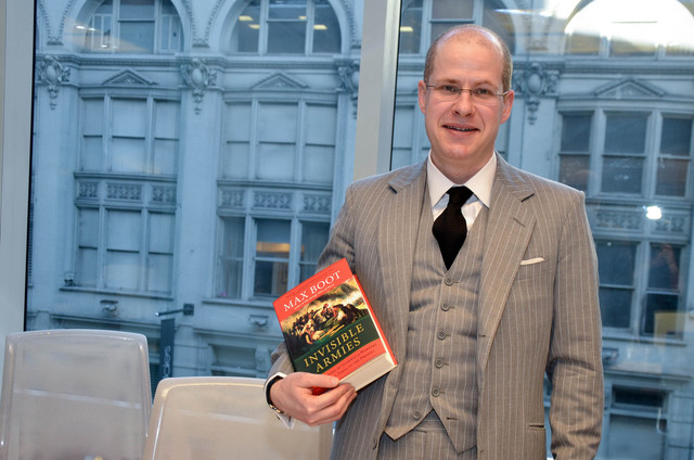 Max Boot's Invisible Armies: An Epic History of Guerilla Warfare from Ancient Times to the Present (New York: Liveright/W.W. Norton, 2013)