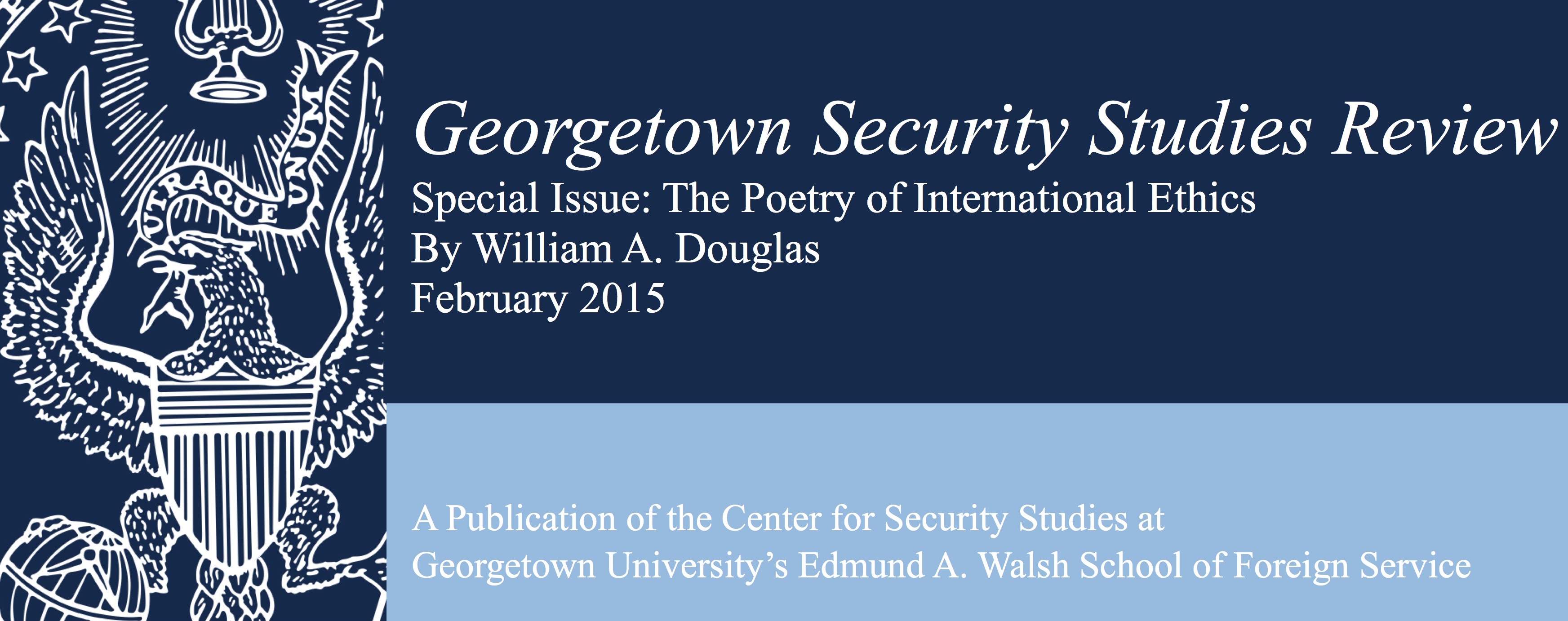Where The Pen Meets The Sword: The Role Of Poetry In The Study Of International Affairs