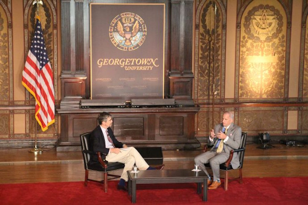 Georgetown's Center for Security Studies Hosts Kalaris Intelligence Conference